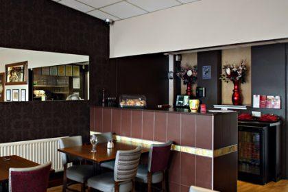 Interior at Murphy Browns Restaurant Belfast