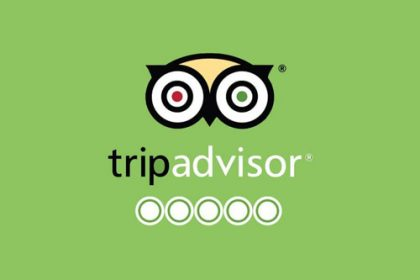 Trip Advisor 5 Star at Murphy Browns Restaurant Belfast