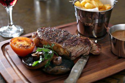 Tasty Steaks at Murphy Browns Restaurant Belfast