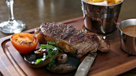 Tasty Steaks at Murphy Browns Restaurant Belfast