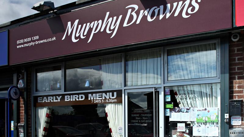Murphy Browns Restaurant Belfast
