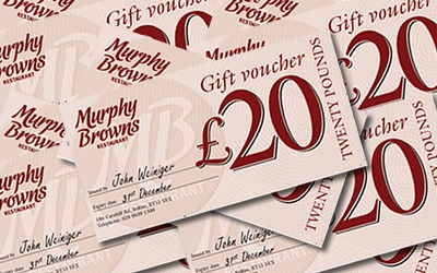 Save at Murphy Browns Restaurant Belfast