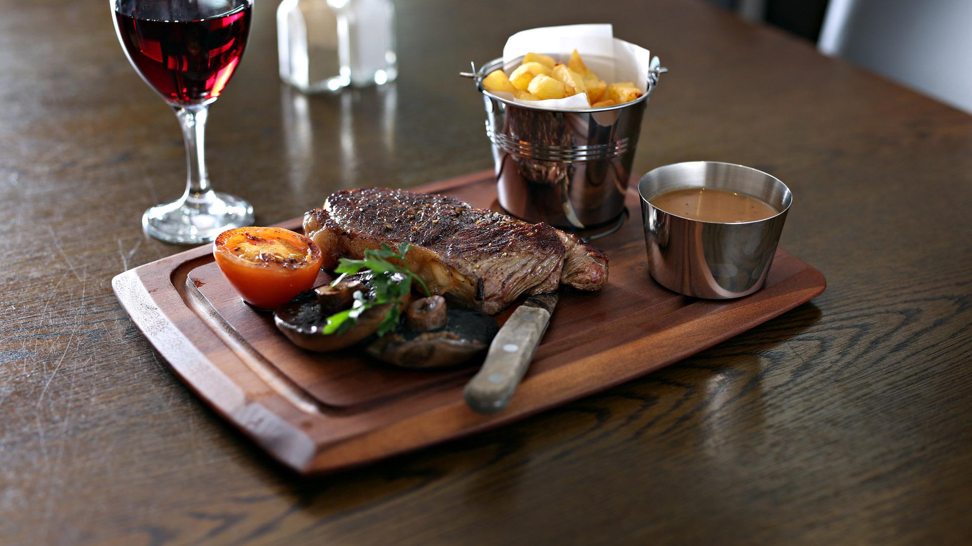 Food at Murphy Browns Restaurant Belfast