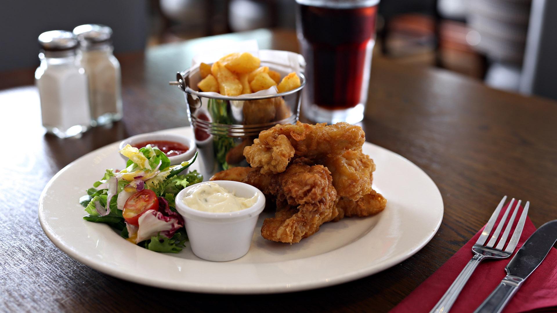 Chicken at Murphy Browns Restaurant Belfast