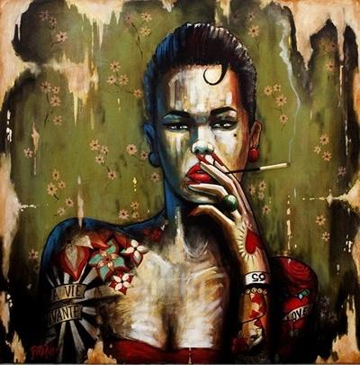 La Vie Vivante by Terry Bradley