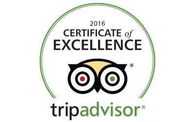 2016 Tripadvisor at Murphy Browns Restaurant Belfast